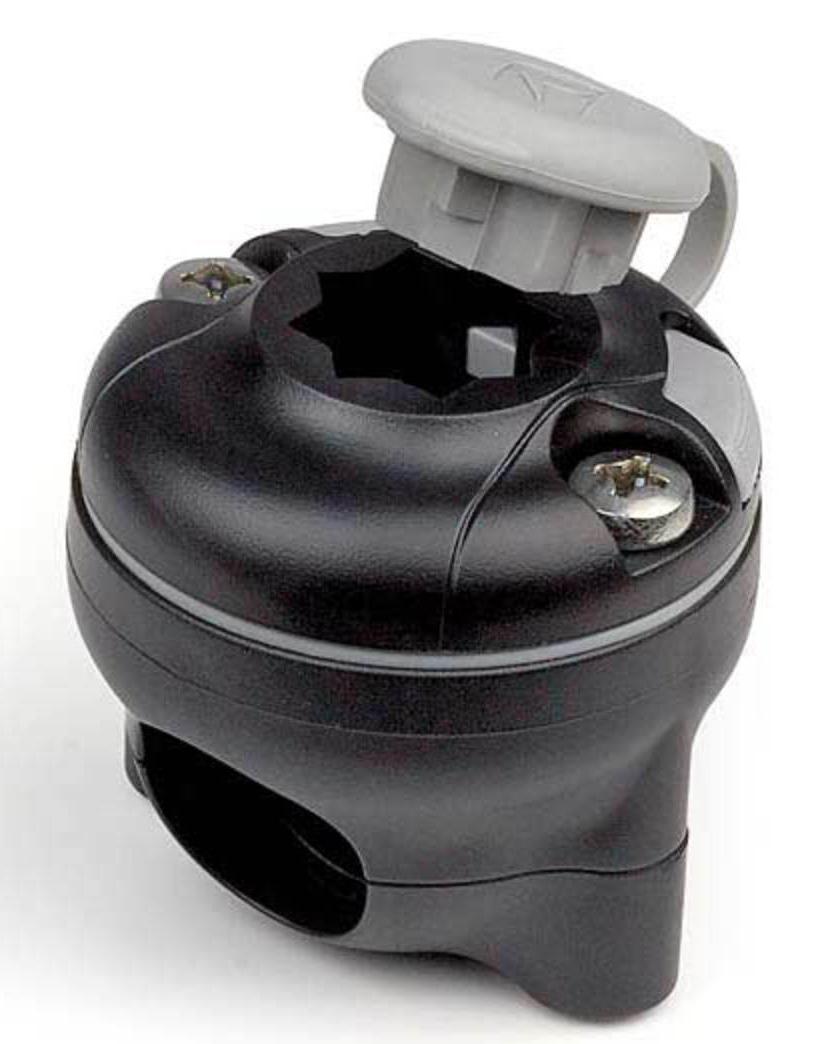 Rekkefeste til Cobb grill 19 - 25mm rekke svart